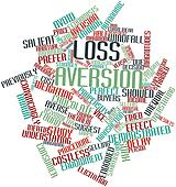 Word cloud for Loss aversion
