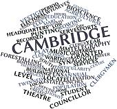 Word cloud for Cambridge