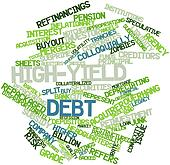 Word cloud for High-yield debt