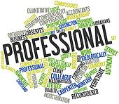 Word cloud for Professional