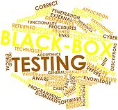 Word cloud for Black-box testing