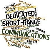 Word cloud for Dedicated short-range communications