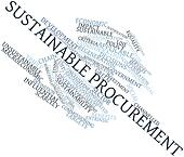 Word cloud for Sustainable procurement