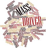 Word cloud for Mass driver