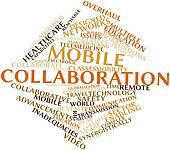 Word cloud for Mobile collaboration