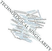 Word cloud for Technological singularity