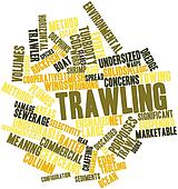 Word cloud for Trawling