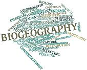 Word cloud for Biogeography
