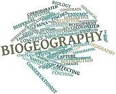 Word cloud for Biogeography