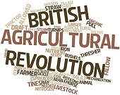 Word cloud for British Agricultural Revolution