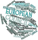 Word cloud for European Council