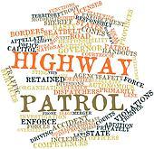Word cloud for Highway patrol