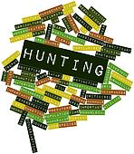 Word cloud for Hunting