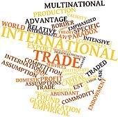 Word cloud for International trade
