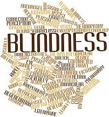 Word cloud for Blindness