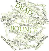 Word cloud for Dead cat bounce