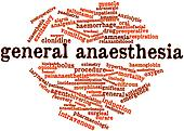 Word cloud for General anaesthesia