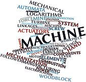Word cloud for Machine