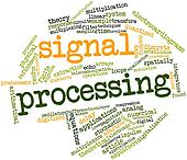 Word cloud for Signal processing