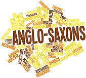Word cloud for Anglo-Saxons