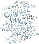 Word cloud for Digital image processing