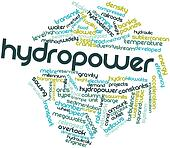Word cloud for Hydropower