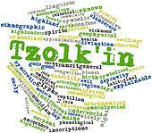 Word cloud for Tzolk'in