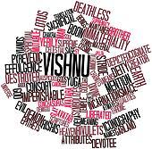 Word cloud for Vishnu