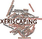 Word cloud for Xeriscaping