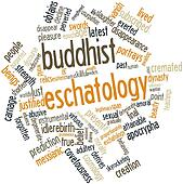 Word cloud for Buddhist eschatology