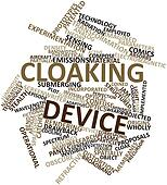 Word cloud for Cloaking device
