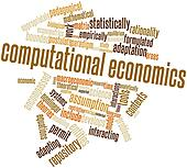 Word cloud for Computational economics
