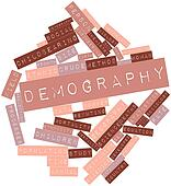 Word cloud for Demography