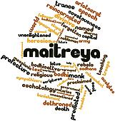 Word cloud for Maitreya