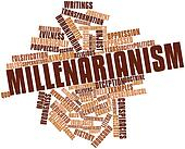 Word cloud for Millenarianism