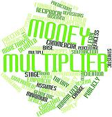 Word cloud for Money multiplier