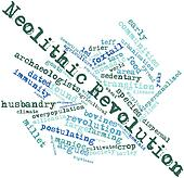 Word cloud for Neolithic Revolution
