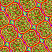 Psychedelic mandala hippy style abstract