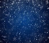 The winter background