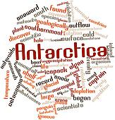 Word cloud for Antarctica