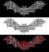 Vampire bat graphic