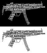 Sub machine gun graphics