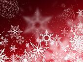snow Christmas day