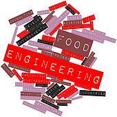 Word cloud for Food engineering