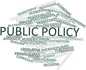 Word cloud for Public policy
