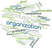 Word cloud for Industrial organization