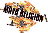 Word cloud for Maya religion