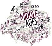 Word cloud for Middle Ages