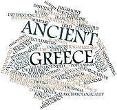 Word cloud for Ancient Greece