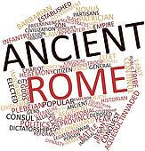 Word cloud for Ancient Rome